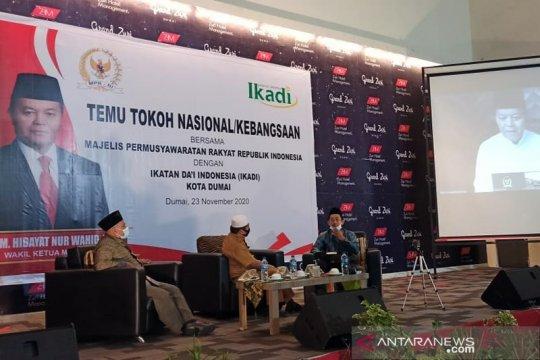 MPR: Indonesia tegak berdiri atas pengorbanan para pendiri bangsa