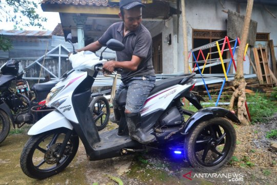 Jasa modifikasi motor untuk disabilitas