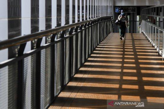 JPO Senen Extension yang nyaman untuk pejalan kaki