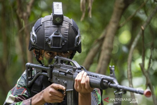 Penggunaan kamera tactical untuk latihan tempur