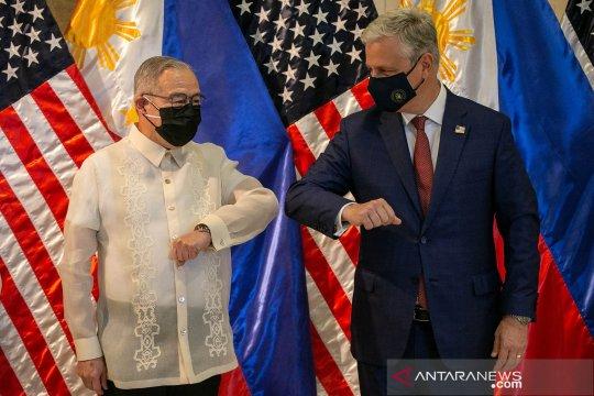 Filipina, AS akan bahas penyelesaian perjanjian kunjungan pasukan