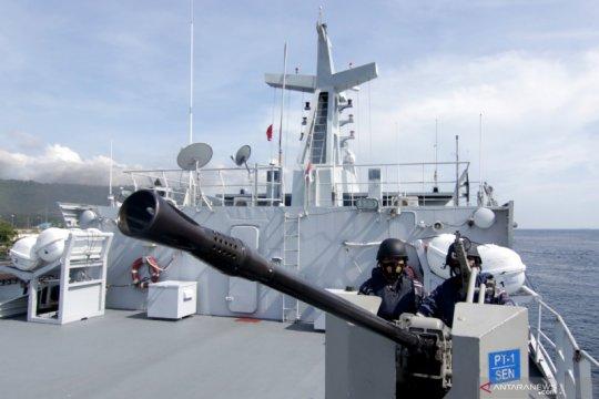 Uji terampil Prajurit TNI-AL