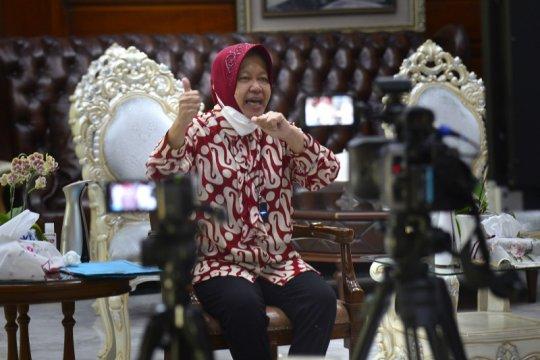 Risma imbau warga Surabaya gunakan hak pilihnya di Pilkada 2020