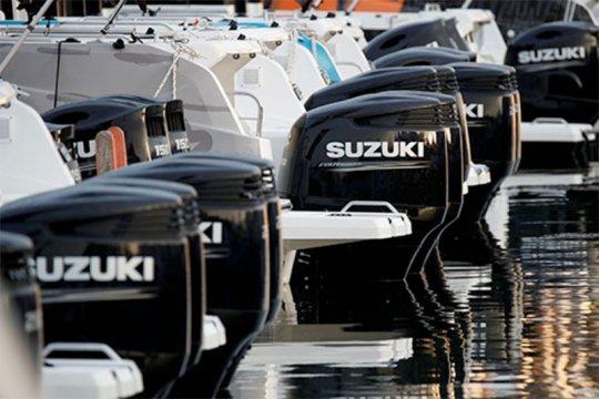 Suzuki AS pisahkan unit sepeda motor dan produk kelautan