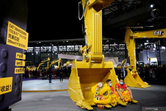 Pameran alat berat untuk konstruksi Bauma China