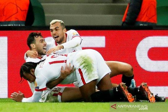 Sevilla menang dramatis lawan Krasnodar, dampingi Chelsea ke 16 besar