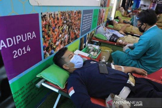 PMI menggelar safari donor untuk menjaga ketersediaan darah