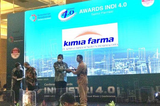 Kemenperin apresiasi pelaku industri, beri penghargaan INDI 4.0