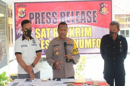 Polres Biak tangani  penipuan online dengan kerugian Rp 1,3 miliar