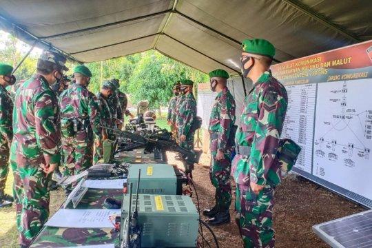 Kasum TNI periksa kesiapan Satgas Pamrahwan Maluku-Maluku Utara