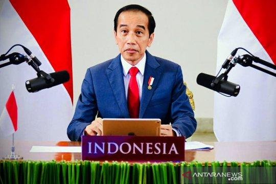 Jokowi: Indonesia manfaatkan momentum krisis untuk lompatan kemajuan