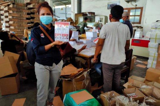 KPU Manggarai sudah menerima logistik Pilkada
