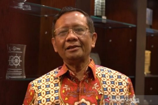 Terkait OTT Edhy Prabowo, Mahfud: Pemerintah dukung KPK