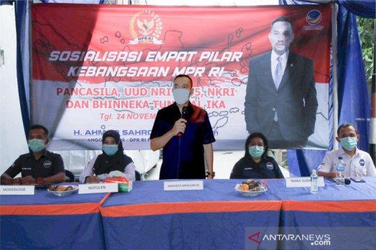 Sahroni ajak masyarakat amalkan nilai-nilai Pancasila jelang Pilkada