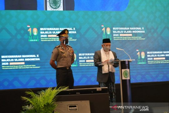 Ma'ruf Amin: Ormas Islam tidak sesuai prinsip MUI, silakan keluar