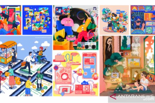 Seniman wanita Asia Tenggara tuangkan kehidupan digital lewat seni