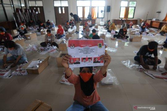 Penyortiran dan pelipatan surat suara Pilkada