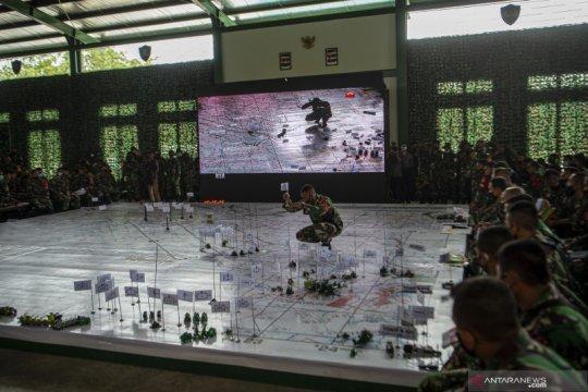 Uji rencana Latihan Antar Kecabangan TNI AD