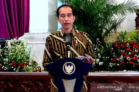 Presiden Jokowi minta menteri dan kepala daerah mereformasi anggaran