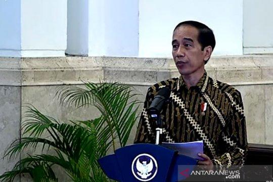 Presiden Jokowi minta K/L beranggaran besar lakukan lelang secepatnya