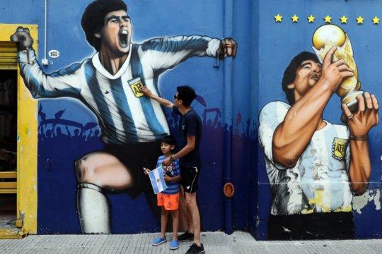 Villas Boas minta FIFA istirahatkan Nomor 10 untuk hormati Maradona
