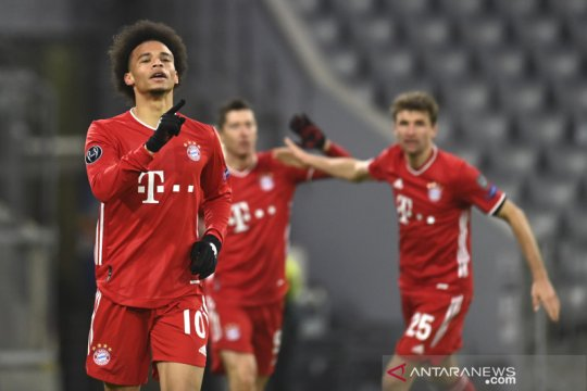 Bayern perbesar peluang pertahankan gelar seusai lolos dari Grup A