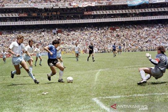 "Bagaimana kutipan ""Tangan Tuhan"" Maradona menyebar ke seluruh jagat"