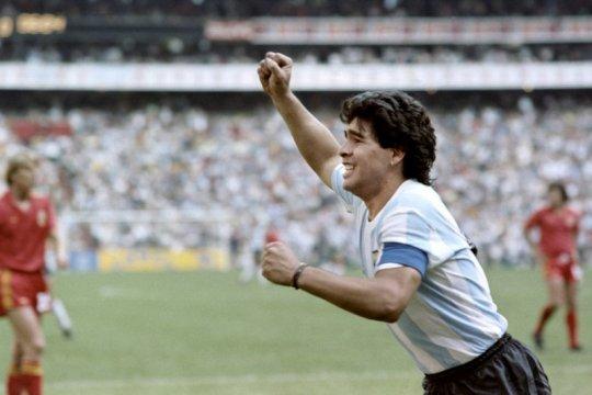 Status kultus Maradona jauh melebihi lapangan sepak bola