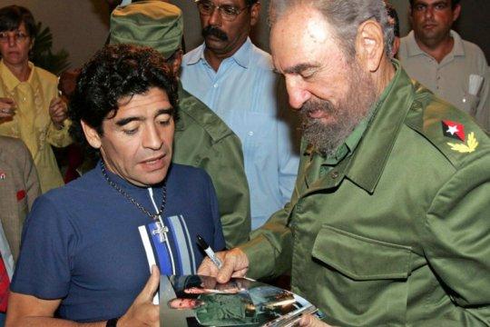 Maradona, legenda sepak bola itu juga pejuang kaum tertindas