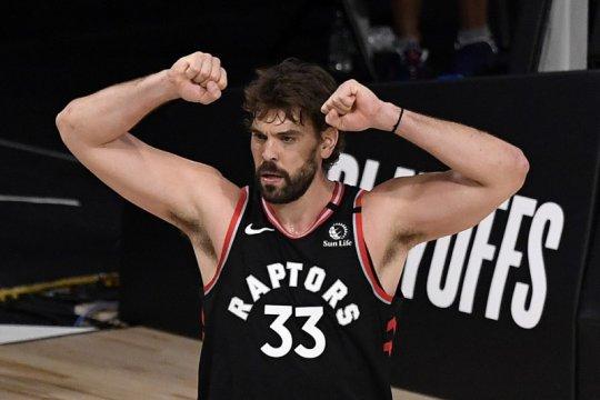 Marc Gasol akui berat tinggalkan Toronto Raptors