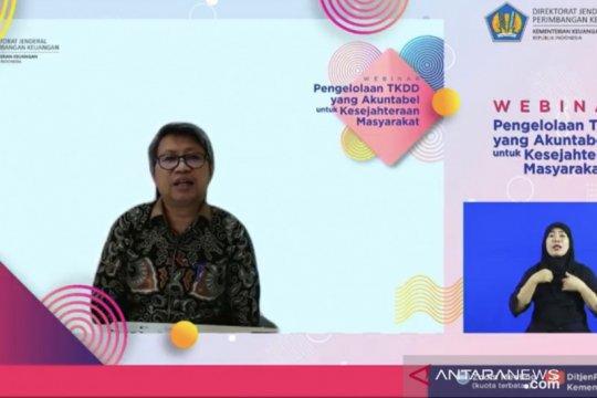 Kemenkeu: Arah kebijakan TKDD 2021 dukung penguatan ekonomi nasional