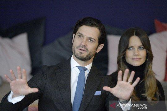 Pangeran Swedia beserta istri terinfeksi corona