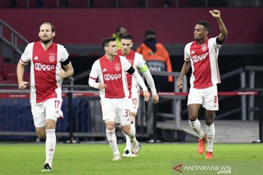 Ajax pastikan debut Liga Champions Midtjylland hanya sampai fase grup