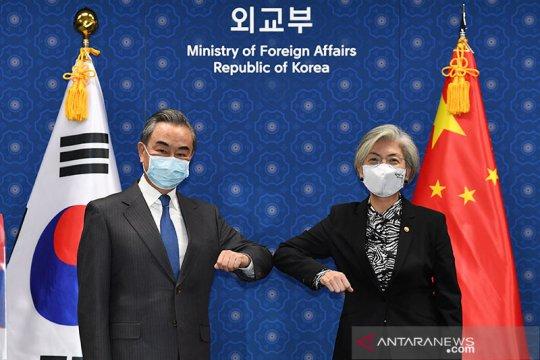 Menlu Korsel, China berjanji tangani bersama Korut dan COVID-19