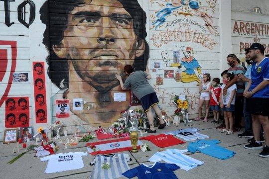 Maradona berpulang, Argentina tetapkan tiga hari masa berkabung