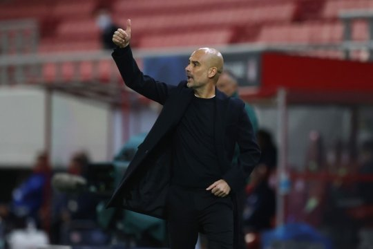 City lolos 16 besar, Guardiola: saatnya fokus ke Liga Premier