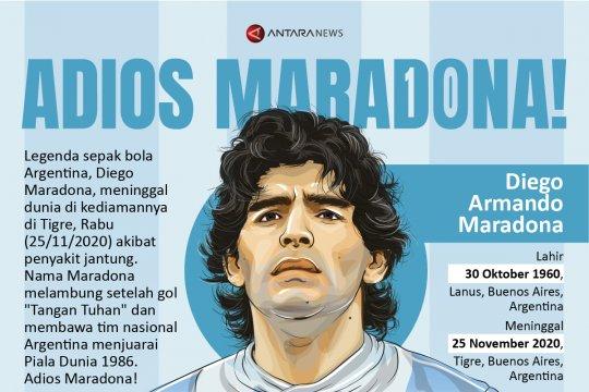 'Adios' Maradona