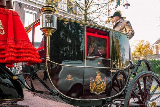 Kereta Kuda Kerajaan Belanda antar Dubes RI serahkan Surat Kepercayaan