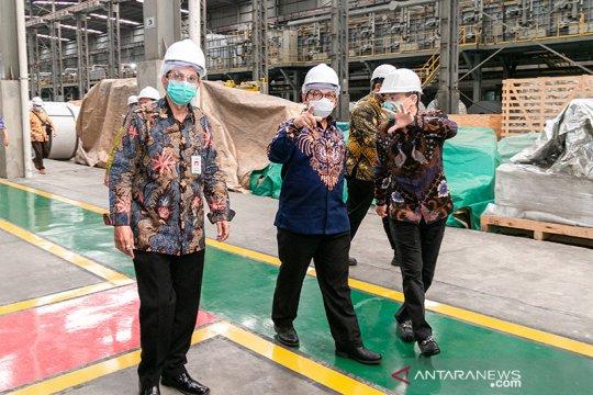 Kemenperin dorong industri baja kurangi bahan baku impor