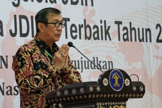 Yasonna harap Pemda dan DPRD maksimalkan data digital informasi hukum