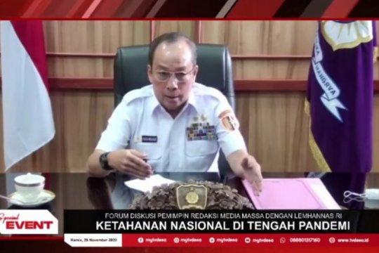 Gubernur Lemhannas: Kewenangan pengerahan TNI ada pada Presiden