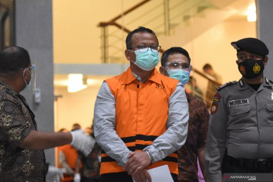 OTT menteri pertama pada era norma baru KPK bernama Edhy Prabowo