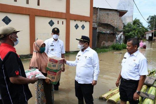 4.570 kepala keluarga di Serdang Bedagai Sumut terdampak banjir