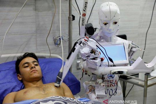 Pelajar Nigeria ciptakan robot yang bisa merawat pasien COVID