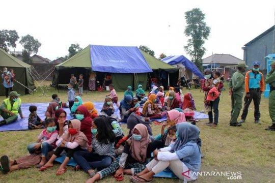 Pengungsi Merapi di Klakah Boyolali jumlahnya meningkat