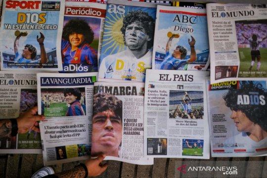 Ahli mulai perdebatkan penyebab kematian Maradona