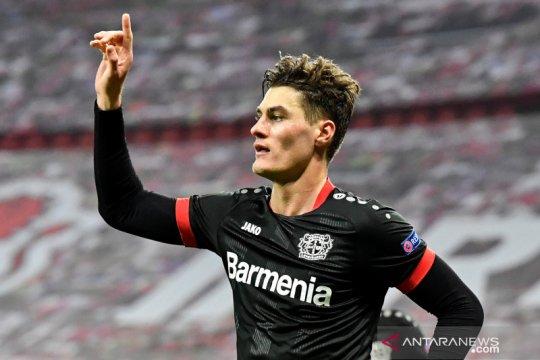 Leverkusen-Slavia Praha petik kemenangan pada putaran keempat Grup C