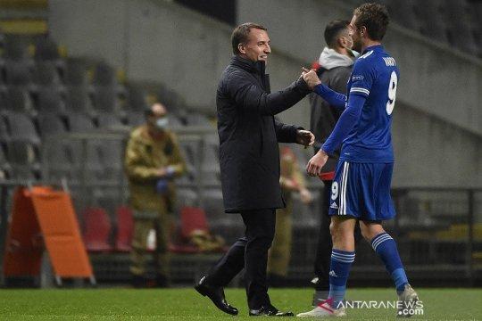 Lolos ke babak gugur, Rodgers sekarang ingin Leicester juara Grup G