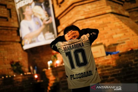 Liga Spanyol pekan ini akan diawali mengheningkan cipta untuk Maradona