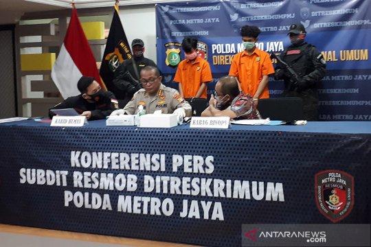 Polisi tembak begal ponsel
